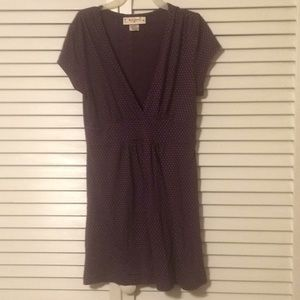 Junior sz. Med Self Esteem purple v neck top